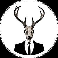 Hoodie #3 - deer skull vol. 1