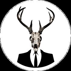 Hoodie - deer skull vol. 1