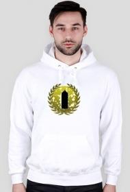 wildstyle logo bluza white kaptur