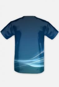koszulka limitowana niebieska