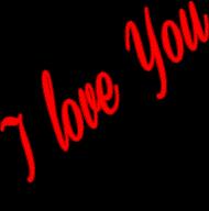 I LOVE YOU-  kubek serce