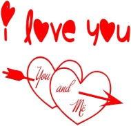 I LOVE YOU-  kubek  kolor 3
