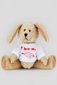 i love you 2- pluszowy królik