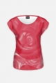 koszulka- róża czerwona