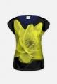 bluzka- kwiat żółty