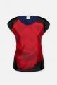 czerwona róza -bluzka