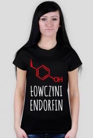 "Koszulka damska ""Łowczyni endorfin"""