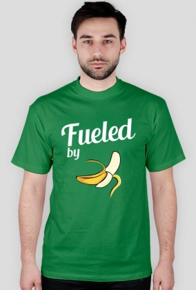 T-shirt biegacza. Fueled by bananas.