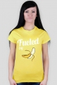 T-shirt biegaczki. Fueled by bananas.