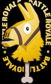 Koszulka - Złota Lama Fortnite