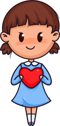 Bluza - Mała Walentynka