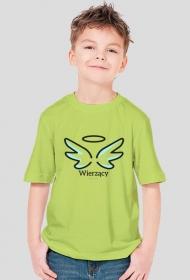 """Koszulki katolickie - dla chłopca """"Wierzący"""""""