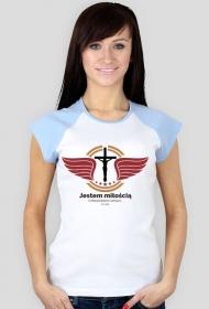 """Koszulki chrześcijańskie - damska """"Dz.1074"""" (wzór 4)"""