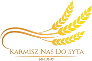 "Koszulki religijne - męska ""Karmisz nas"" (wzór 2)"