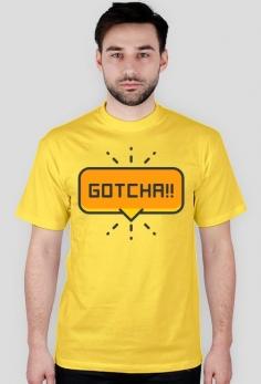 Gotcha! - koszulka (różne kolory)