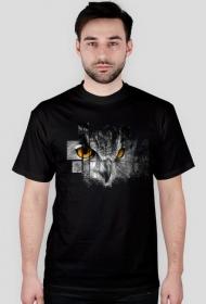 Pixel Sowa T-Shirt męski