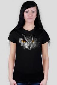 Pixel Sowa T-Shirt damski