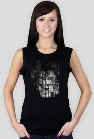 Pixel lion - damski bezrękawnik