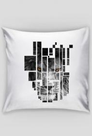 Pixel lion - poduszka