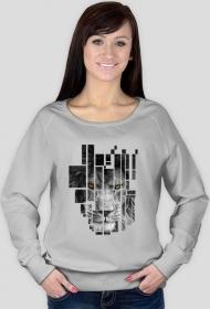 Pixel lion  - bluza damska