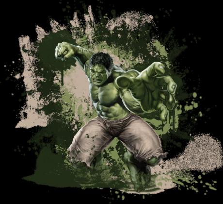 Marvel - Hulk przypinka 5 cm
