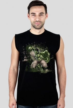 Marvel - Hulk Bezrękawnik Męski