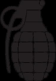 grenade white t-shirt