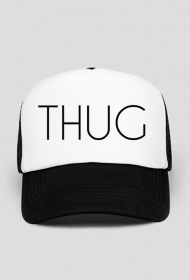 THUG black Trucker