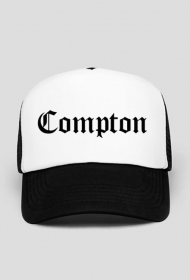 Compton black Trucker