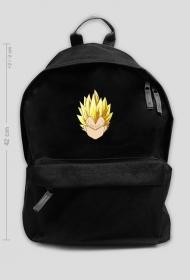 Dragon Ball - Czarny plecak Vegeta SSJ