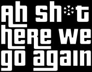 Tshirt męski GTA San Andreas Here we go again