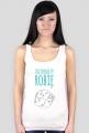 Robię Internety - geek - koszulka damska na ramiączkach