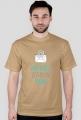 Mój mózg jest pełen SPAMU - geek - t-shirt męski