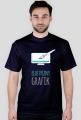 Elastyczny grafik - grafik - t-shirt męski