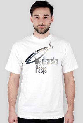 Koszulka męska - logo przód / tył