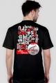 Koszulka męska RZEKI - czarna