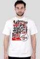 Koszulka męska RZEKI - biała