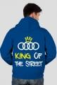 """Bluza rozpinana z kapturem """"KING OF THE STREET"""" wszystkie kolory (tyl)"""