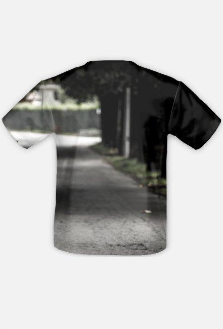 Full Print Street Bike - męska koszulka motocyklowa