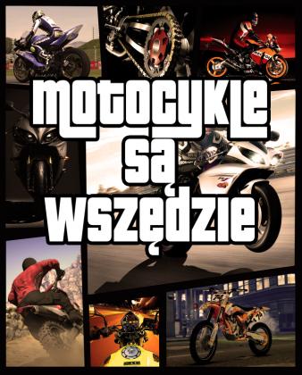 Motocykle są wszędzie GTA - damska bluza motocyklowa