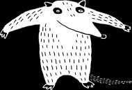 Mrówkojad przypinka max