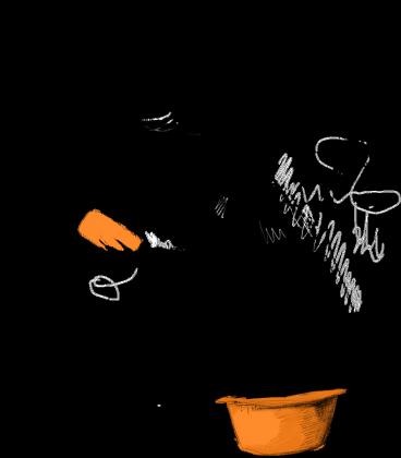 Diabeł na nocniku koszulka