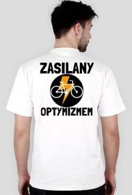 Koszulka męska - Zasilany Optymizmem