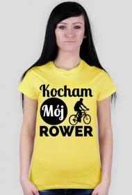 Koszulka damska - Kocham Rower