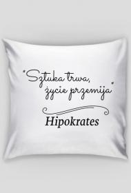Poszewka na poduszkę - Cytat, Hipokrates