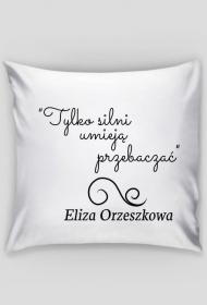 Poszewka na poduszkę - Cytat, E. Orzeszkowa
