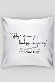 Poszewka na poduszkę - Cytat, F. Goya