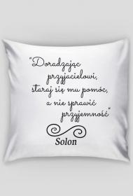 Poszewka na poduszkę - Cytat, Solon