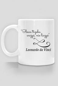 Kubek - Cytat, L. da Vinci