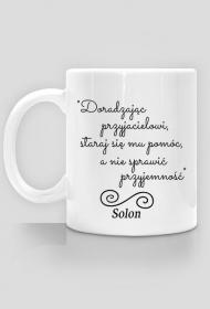 Kubek - Cytat, Solon
